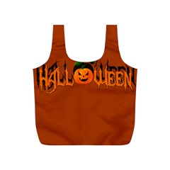 Halloween Full Print Recycle Bags (s)  by Valentinaart