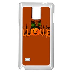 Halloween Samsung Galaxy Note 4 Case (white)