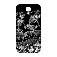 Skeletons   Halloween Samsung Galaxy S4 I9500/i9505  Hardshell Back Case by Valentinaart