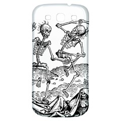 Skeletons   Halloween Samsung Galaxy S3 S Iii Classic Hardshell Back Case by Valentinaart