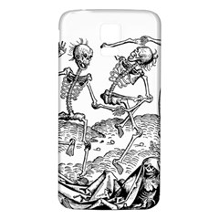 Skeletons   Halloween Samsung Galaxy S5 Back Case (white) by Valentinaart