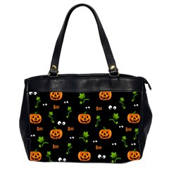 Pumpkins   Halloween Pattern Office Handbags (2 Sides)  by Valentinaart