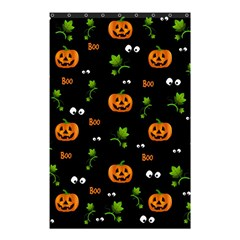 Pumpkins   Halloween Pattern Shower Curtain 48  X 72  (small)  by Valentinaart