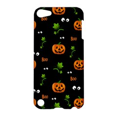 Pumpkins   Halloween Pattern Apple Ipod Touch 5 Hardshell Case