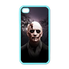 Zombie Apple Iphone 4 Case (color) by Valentinaart
