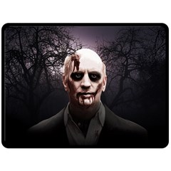 Zombie Double Sided Fleece Blanket (large)