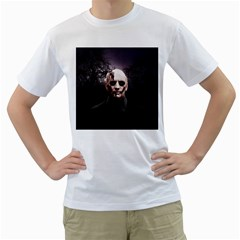 Zombie Men s T Shirt (white)  by Valentinaart