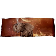 Cute Baby Elephant On A Jetty Body Pillow Case Dakimakura (two Sides) by FantasyWorld7