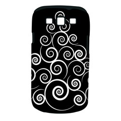 Abstract Spiral Christmas Tree Samsung Galaxy S Iii Classic Hardshell Case (pc+silicone)