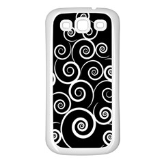 Abstract Spiral Christmas Tree Samsung Galaxy S3 Back Case (white) by Mariart