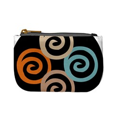 Abroad Spines Circle Mini Coin Purses