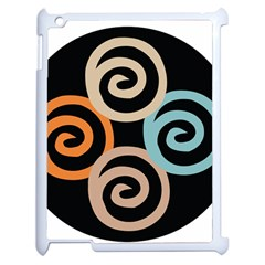Abroad Spines Circle Apple Ipad 2 Case (white) by Mariart