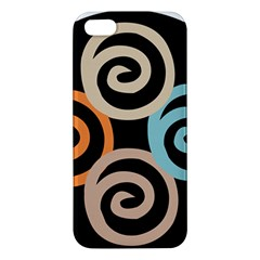 Abroad Spines Circle Apple Iphone 5 Premium Hardshell Case by Mariart