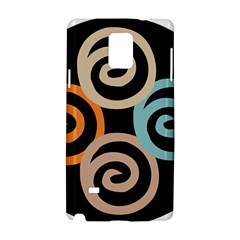 Abroad Spines Circle Samsung Galaxy Note 4 Hardshell Case by Mariart
