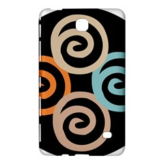 Abroad Spines Circle Samsung Galaxy Tab 4 (7 ) Hardshell Case  by Mariart