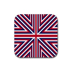 Alternatively Mega British America Rubber Square Coaster (4 Pack)  by Mariart