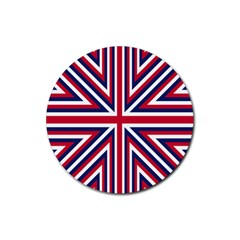 Alternatively Mega British America Rubber Coaster (round)  by Mariart