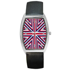 Alternatively Mega British America Barrel Style Metal Watch by Mariart
