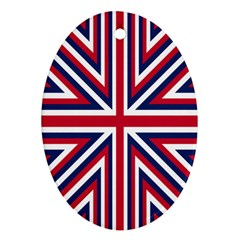 Alternatively Mega British America Oval Ornament (two Sides) by Mariart