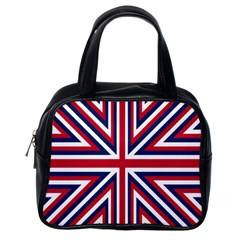 Alternatively Mega British America Classic Handbags (one Side) by Mariart