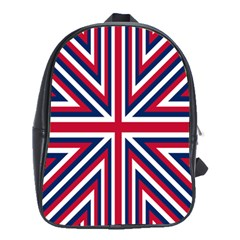 Alternatively Mega British America School Bag (large)
