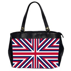 Alternatively Mega British America Office Handbags (2 Sides)  by Mariart