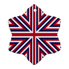 Alternatively Mega British America Ornament (snowflake) by Mariart
