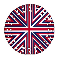 Alternatively Mega British America Round Filigree Ornament (two Sides) by Mariart