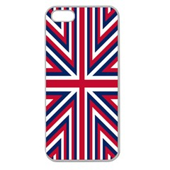 Alternatively Mega British America Apple Seamless Iphone 5 Case (clear) by Mariart