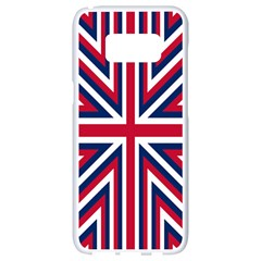 Alternatively Mega British America Samsung Galaxy S8 White Seamless Case by Mariart