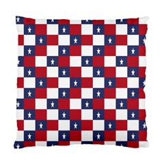 American Flag Star White Red Blue Standard Cushion Case (two Sides) by Mariart