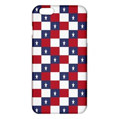 American Flag Star White Red Blue Iphone 6 Plus/6s Plus Tpu Case by Mariart