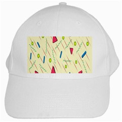 Background  With Lines Triangles White Cap by Mariart