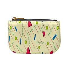 Background  With Lines Triangles Mini Coin Purses by Mariart