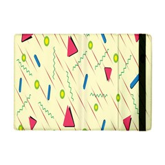 Background  With Lines Triangles Apple Ipad Mini Flip Case by Mariart