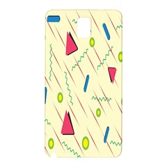 Background  With Lines Triangles Samsung Galaxy Note 3 N9005 Hardshell Back Case by Mariart