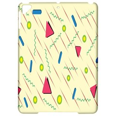 Background  With Lines Triangles Apple Ipad Pro 9 7   Hardshell Case by Mariart
