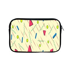 Background  With Lines Triangles Apple Macbook Pro 13  Zipper Case by Mariart