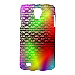 Abstract Rainbow Pattern Colorful Stars Space Galaxy S4 Active by Mariart
