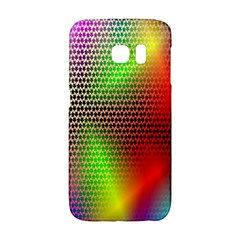 Abstract Rainbow Pattern Colorful Stars Space Galaxy S6 Edge by Mariart