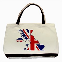 Britain Flag England Nations Basic Tote Bag (two Sides) by Mariart
