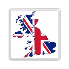 Britain Flag England Nations Memory Card Reader (square)  by Mariart