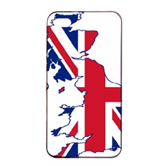 Britain Flag England Nations Apple Iphone 4/4s Seamless Case (black) by Mariart