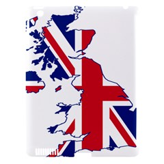 Britain Flag England Nations Apple Ipad 3/4 Hardshell Case (compatible With Smart Cover) by Mariart