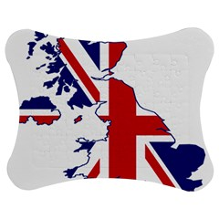 Britain Flag England Nations Jigsaw Puzzle Photo Stand (bow)