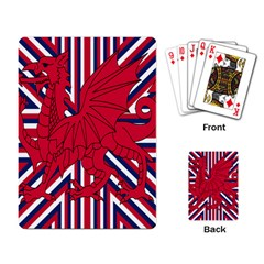 Alternatively Mega British America Red Dragon Playing Card