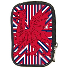 Alternatively Mega British America Red Dragon Compact Camera Cases by Mariart