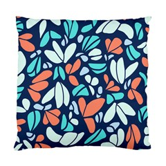 Blue Tossed Flower Floral Standard Cushion Case (one Side) by Mariart