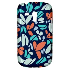 Blue Tossed Flower Floral Galaxy S3 Mini by Mariart