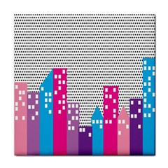 Building Polka City Rainbow Tile Coasters